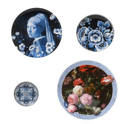 Delfts blauwe borden